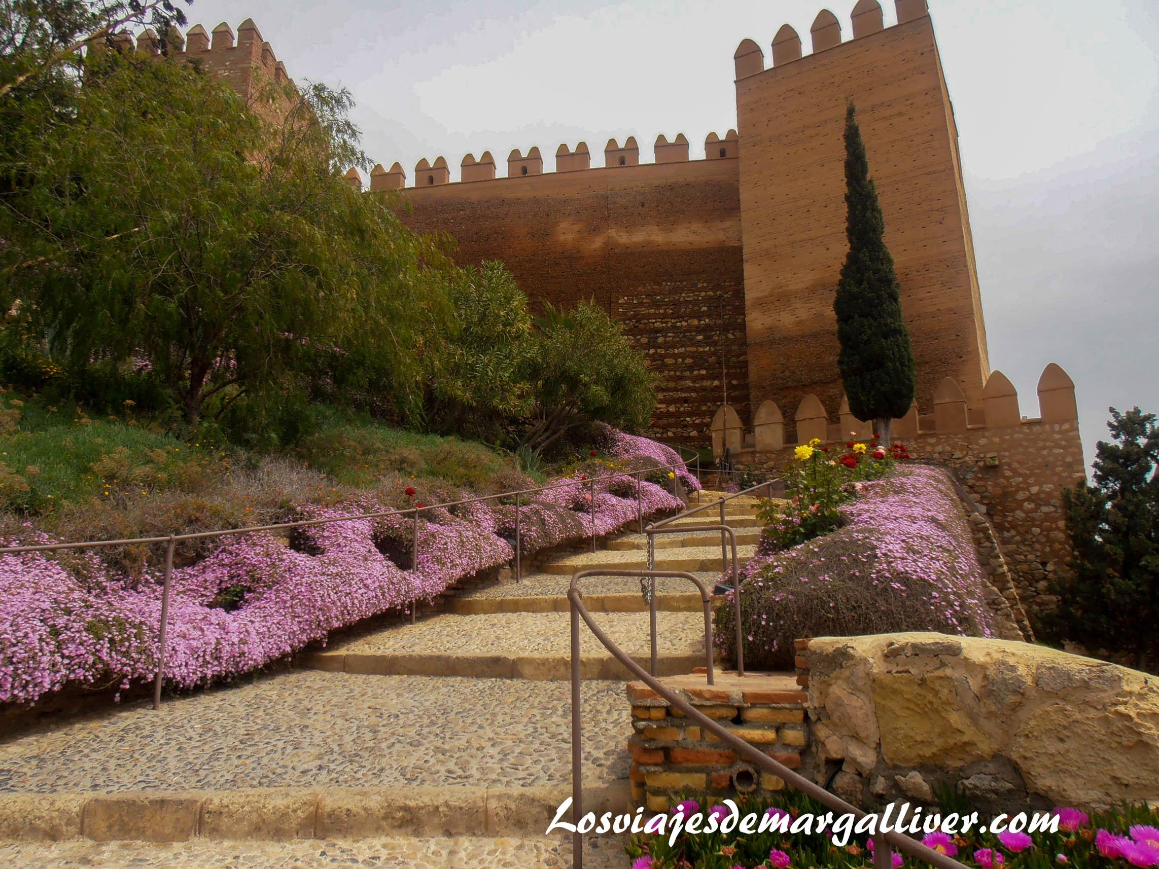 Alcazaba de Almería en la ruta de juego de tronos -Los viajes de Margalliver